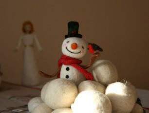 Hóember és vörösbegy (2)